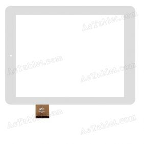 PB80JG8867 080177-01A-V1 Digitizer Glass Touch Screen Replacement for 8 Inch MID Tablet PC