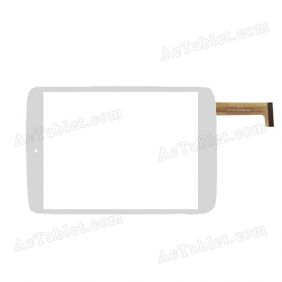 OLM-080A0241-PG ver.1 Digitizer Glass Touch Screen Replacement for 7.9 Inch MID Tablet PC