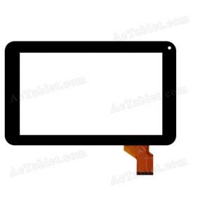 QSD E-C9009-01 Digitizer Glass Touch Screen Replacement for 9 Inch MID Tablet PC