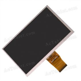 Inner LCD Display Screen for Majestic Tab-178 3G 7 Inch MID Tablet PC Replacement - 800x480px