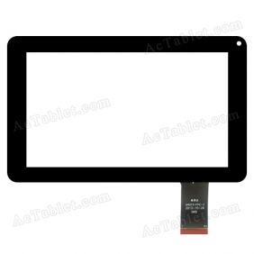 GM073-FPC-2 Digitizer Glass Touch Screen Replacement for 9 Inch MID Tablet PC