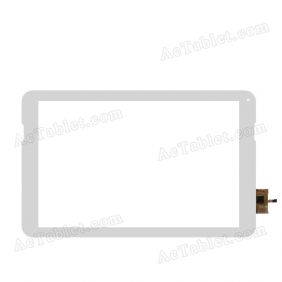 DY-F-10102-V1 TGH Digitizer Glass Touch Screen Replacement for 10.1 Inch MID Tablet PC