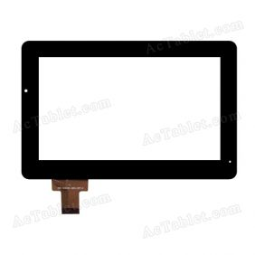 HOTATOUCH DRFPCO43T-V3 Digitizer Glass Touch Screen Replacement for 7 Inch MID Tablet PC