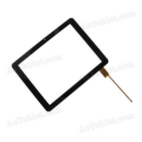 WGJ97083 Digitizer Glass Touch Screen Replacement for 9.7 Inch MID Tablet PC