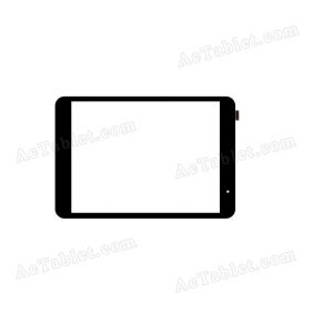 F-WGJ78055-V2 Digitizer Glass Touch Screen Replacement for 7.9 Inch MID Tablet PC