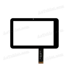 04-0700-0618 V2 Digitizer Glass Touch Screen Replacement for 7 Inch MID Tablet PC