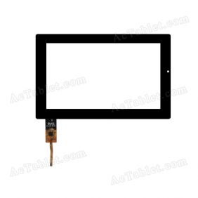 DPT 300-N3758A-A00-V1.0 Digitizer Glass Touch Screen Replacement for 7 Inch MID Tablet PC