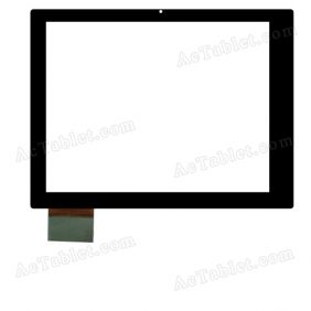 MJK-0030-C9.7 Digitizer Glass Touch Screen Replacement for 9.7 Inch MID Tablet PC