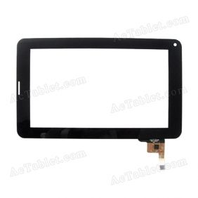 C186111GT-FPC732DR GT910 Digitizer Glass Touch Screen Replacement for 7 Inch MID Tablet PC