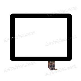 SE0907102GG02 T040 REV:D E300210 Digitizer Glass Touch Screen Replacement for 9.7 Inch MID Tablet PC