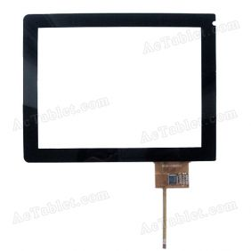 B032-C08001C Digitizer Glass Touch Screen Replacement for 8 Inch MID Tablet PC