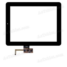 DPT 300-L3587A-A00-V1.0 Digitizer Glass Touch Screen Replacement for 9.7 Inch MID Tablet PC