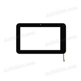 TOPSUN_C0010_B1 Digitizer Glass Touch Screen Replacement for 7 Inch MID Tablet PC