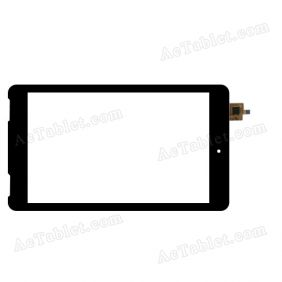 DY-F-07027 Digitizer Glass Touch Screen Replacement for 7 Inch MID Tablet PC