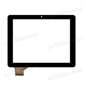 C195149A1-FPC687DR Digitizer Glass Touch Screen Replacement for 8 Inch MID Tablet PC