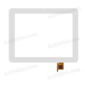 PB97DR8306 Digitizer Glass Touch Screen Replacement for 9.7 Inch MID Tablet PC