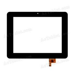 PB80M805-01 Digitizer Glass Touch Screen Replacement for 8 Inch MID Tablet PC