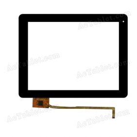 GTK-V2.0-FPC HXD/ITO-CTP-0975-001-2 Digitizer Glass Touch Screen Replacement for 9.7 Inch MID Tablet PC