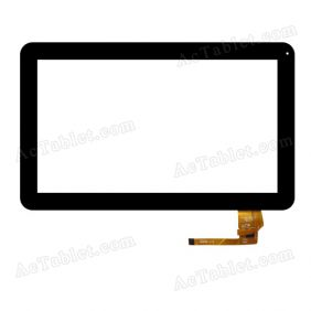 04-1010-0645 V1 Digitizer Glass Touch Screen Replacement for 10.1 Inch MID Tablet PC