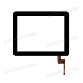 TOPSUN_E0011_A2 Digitizer Glass Touch Screen Replacement for 9.7 Inch MID Tablet PC