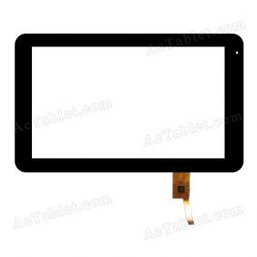TOPSUN_F0001_A1 Digitizer Glass Touch Screen Replacement for 10.1 Inch MID Tablet PC
