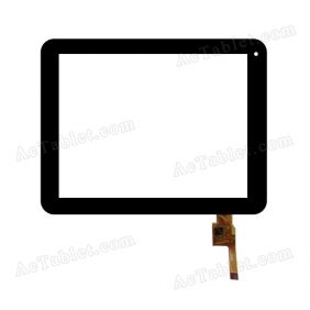 TOPSUN_D0001_A2 Digitizer Glass Touch Screen Replacement for 8 Inch MID Tablet PC