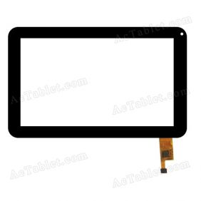 TOPSUN_C0027_A1 Digitizer Glass Touch Screen Replacement for 7 Inch MID Tablet PC