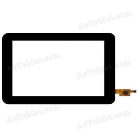 TC107016XCJ-C-V0.1 Digitizer Glass Touch Screen Replacement for 7 Inch MID Tablet PC
