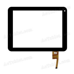 TOPSUN_D0031_A1 Digitizer Glass Touch Screen Replacement for 8 Inch MID Tablet PC