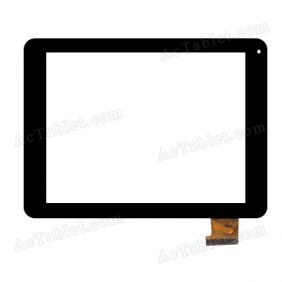 TOPSUN_D0042_A1 Digitizer Glass Touch Screen Replacement for 8 Inch MID Tablet PC