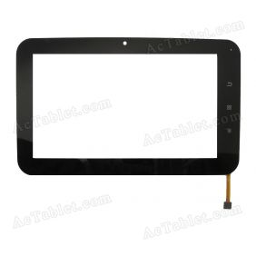 TOPSUN_C0132_A1 Digitizer Glass Touch Screen Replacement for 7 Inch MID Tablet PC