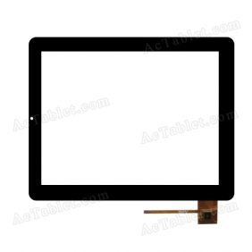 TOPSUN_E0046_A2 Digitizer Glass Touch Screen Replacement for 9.7 Inch MID Tablet PC