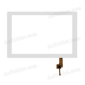 TOPSUN_F0036_A2 Digitizer Glass Touch Screen Replacement for 10.1 Inch MID Tablet PC