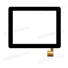 TOPSUN_E0029_A1Digitizer Glass Touch Screen Replacement for 9.7 Inch MID Tablet PC