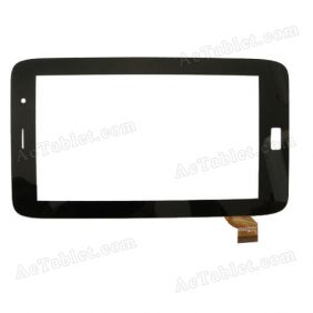 TOPSUN_C0105(COB)_A1 Digitizer Glass Touch Screen Replacement for 7 Inch MID Tablet PC