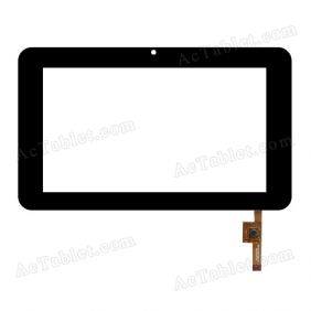 EST-04-0700-0314 V2 Digitizer Glass Touch Screen Replacement for 7 Inch MID Tablet PC