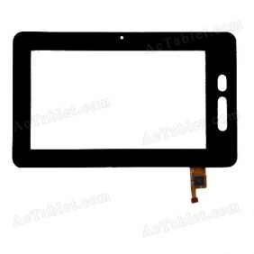 TOPSUN-V6A-B Digitizer Glass Touch Screen Replacement for 7 Inch MID Tablet PC