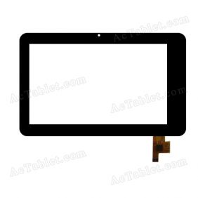 TOPSUN_C0021_A1 Digitizer Glass Touch Screen Replacement for 7 Inch MID Tablet PC