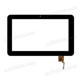 TOPSUN_F0056_A2 Digitizer Glass Touch Screen Replacement for 10.1 Inch MID Tablet PC