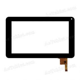 TOPSUN_C0080_A3 Digitizer Glass Touch Screen Replacement for 7 Inch MID Tablet PC