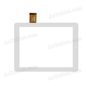 300-L4315D-A00-V1.0 M809Q9 Digitizer Glass Touch Screen Replacement for 8 Inch MID Tablet PC