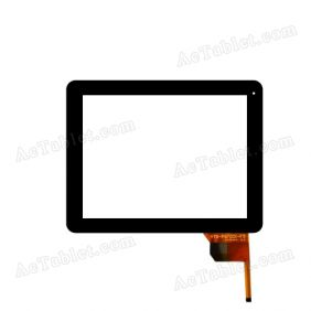 YTG-P97001-F9 Digitizer Glass Touch Screen Replacement for 9.7 Inch MID Tablet PC