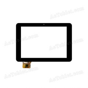YTG-P80002-F1 Digitizer Glass Touch Screen Replacement for 8 Inch MID Tablet PC