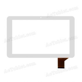 YTG-P10005-F9 Digitizer Glass Touch Screen Replacement for 10.1 Inch MID Tablet PC