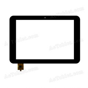 XC8001 360 Digitizer Glass Touch Screen Replacement for 8 Inch MID Tablet PC