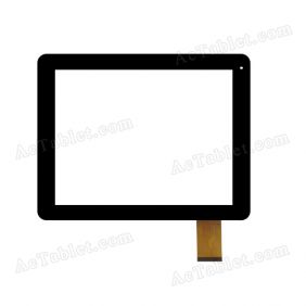 MT97002-V4D Digitizer Glass Touch Screen Replacement for 9.7 Inch MID Tablet PC