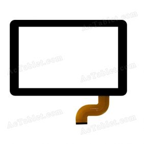 WJ-DR10038 FPC Digitizer Glass Touch Screen Replacement for 10.1 Inch MID Tablet PC