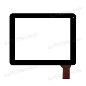 WJ-DR97023 FPC V2.0 Digitizer Glass Touch Screen Replacement for 9.7 Inch MID Tablet PC