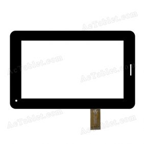 F20130501 HK70DR2023 Digitizer Glass Touch Screen Replacement for 7 Inch MID Tablet PC