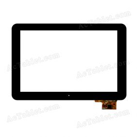 300-L4096A-C00 Digitizer Glass Touch Screen Replacement for 10.1 Inch MID Tablet PC